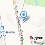 Трекер на карте Хабаровска