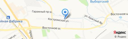 Ковчег на карте Хабаровска