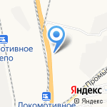 ТЭС на карте Хабаровска