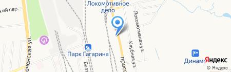 Механика на карте Хабаровска