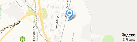Ягуар на карте Хабаровска