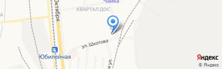 Золотой Лучик на карте Хабаровска