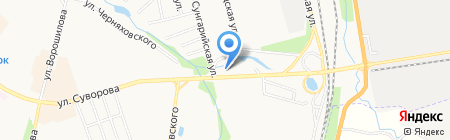 У Вероники на карте Хабаровска