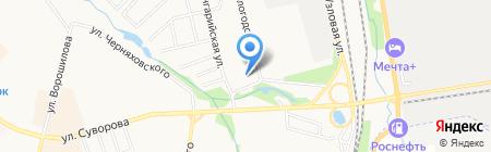 Строитель на карте Хабаровска