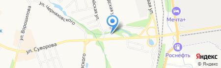 ВАХО на карте Хабаровска