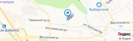 Фасадно-кровельный центр на карте Хабаровска
