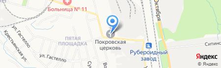 Приход Покрова Пресвятой Богородицы Хабаровской епархии Русской Православной Церкви на карте Хабаровска