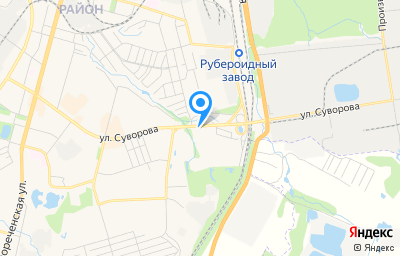 Местоположение на карте пункта техосмотра по адресу г Хабаровск, ул Суворова, д 80