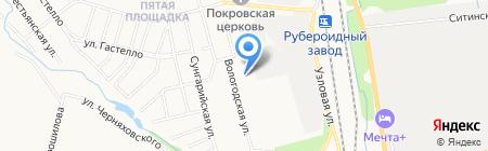 Другое дело на карте Хабаровска