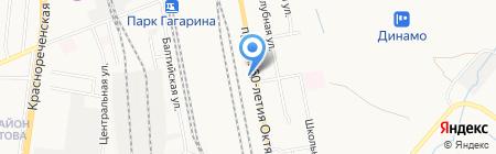 Пресс-ДВ на карте Хабаровска