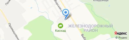 ПрофСан ДВ на карте Хабаровска