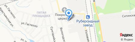 Техстройконтракт на карте Хабаровска