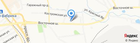 АМУР ЗОЛОТО на карте Хабаровска