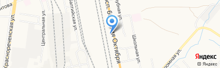 Электромир на карте Хабаровска