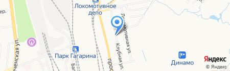 Ромашка на карте Хабаровска