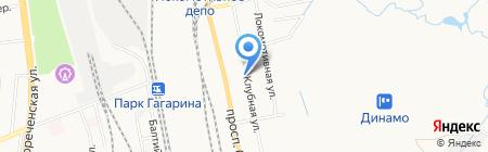 ДВСРК на карте Хабаровска