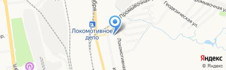 Людмила на карте Хабаровска