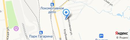 Объединенный архив службы управления делами г. Хабаровска на карте Хабаровска