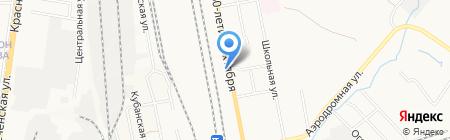 М1 на карте Хабаровска