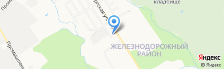 Пластик-Сервис на карте Хабаровска