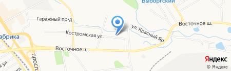 Арсенал ДВ на карте Хабаровска