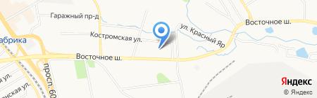 Амур на карте Хабаровска