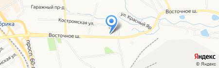 Автодом премиум на карте Хабаровска