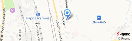 Магазин хозяйственных товаров на карте Хабаровска