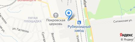 Макс Стандарт на карте Хабаровска