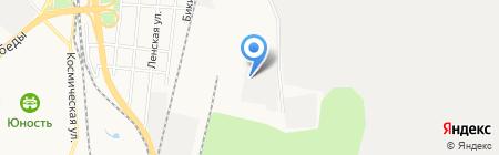 Дальвент на карте Хабаровска