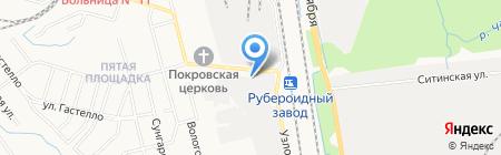 Скорость27 на карте Хабаровска