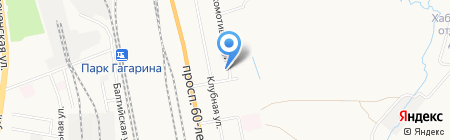 Восточная Снабжающая Компания на карте Хабаровска