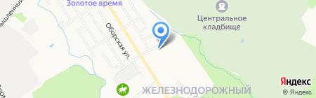 Форсаж-Авто на карте Хабаровска