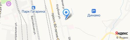 Средняя общеобразовательная школа №40 на карте Хабаровска
