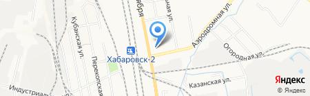 Е-95 на карте Хабаровска
