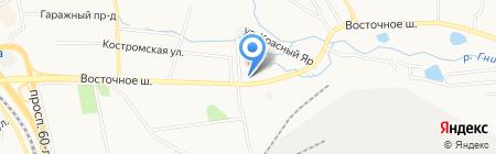 НП-СЕРВИС на карте Хабаровска