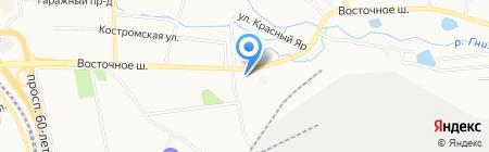 Богатей! на карте Хабаровска