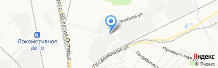 АмурЧерМет на карте Хабаровска