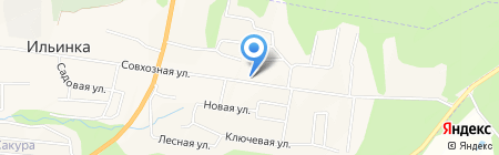 Удобный на карте Ильинки