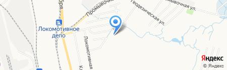 Средняя общеобразовательная школа №9 на карте Хабаровска