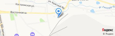 12 АРЗ на карте Хабаровска