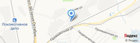 Купеческий Экспресс на карте Хабаровска