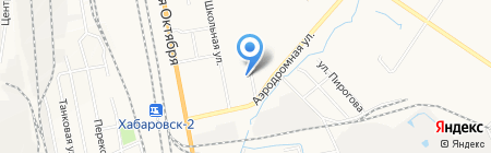 Продуктовый магазин на карте Хабаровска