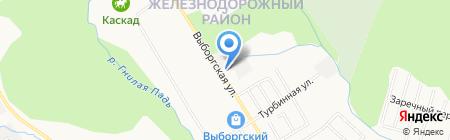 AMG на карте Хабаровска