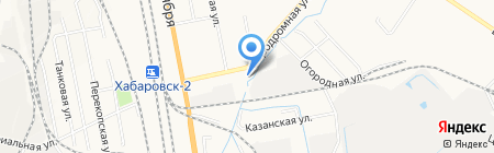 ДВ-Пласт на карте Хабаровска