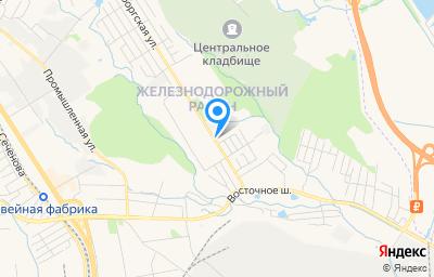 Местоположение на карте пункта техосмотра по адресу г Хабаровск, ул Нововыборгская, д 50Б