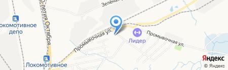 Кадастровая палата на карте Хабаровска
