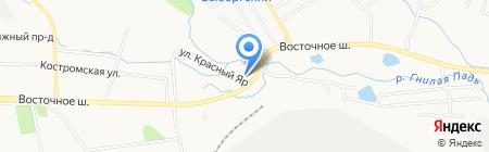 Гостиный двор на карте Хабаровска