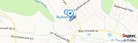 Горреклама на карте Хабаровска