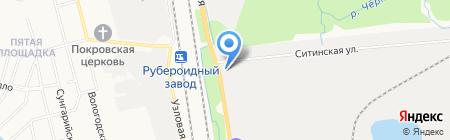 Олеман на карте Хабаровска